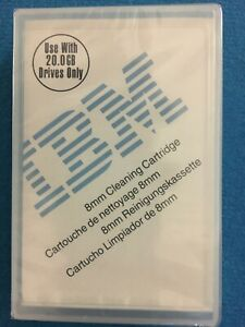 Brand New IBM Cleaning tape cartridge Factory Sealed 59H2898 20 GB Drives Only