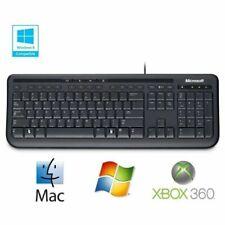Clavier Pro Microsoft Wired Keyboard 600 PC Mac Xbox Keyboard AZERTY layout USB