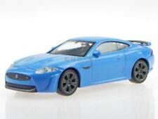 Jaguar XKR-S blue diecast modelcar 44045 Welly 1:43
