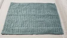 "New W/O Tags Fieldcrest Bedding Blue Tonel Pick Stitch Sateen Pillow Sham 20X28"""