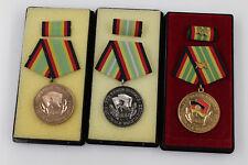 Orig. DDR NVA Auszeichnung Treue Dienste in Stufe Bronze Silber 20 Jahre