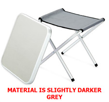 SPECIAL OFFER 2 4 £12  Wilron Folding Camping Aluminium Lightweight Stool/Table