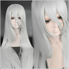 For Cosplay Halloween Nier Automata A2 YoRHa Type A No. 2 Silver White Long Wig