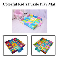 Puzzle Play Mat For Baby Kids Colourful Interlocking And Extra Thick Collapsible