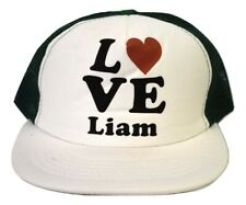 Womens Love Liam Payne 1D One Direction Mesh Trucker Baseball Hat Cap New