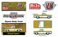 1973 CHEVROLET CHEYENNE SQUAREBODY USA LIQUID GOLD MIJO 1/64 BY M2 31500-MJS24
