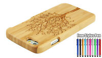 Bamboo Wood Carved Tree Case Cover for iPhone 5/5s/SE 6/6S iPhone 6 Plus/6S Plus