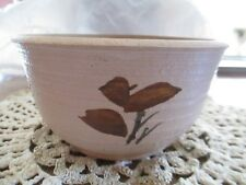Hand Crafted  Hand Thrown  Studio Art Pottery Bowl  -  Signed by Artist