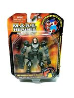 "M.A.R.S. Hero Max 4"" Action Figure Toy 13 Interchangeable Parts NEW 2006"