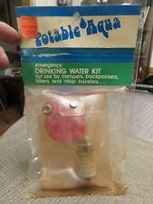 Older Potable Aqua Emergency Drinking Water Kit 1970's? (Unopened)
