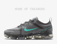 Nike Air VaporMax 2019 Cool Grey Black Hyper Jade Men's Trainers All Sizes