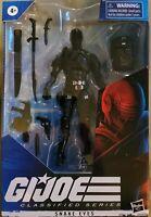 "G.I. Joe Classified Series Snake Eyes 6"" Action Figure Wave 1 Hasbro - In Hand🔥"