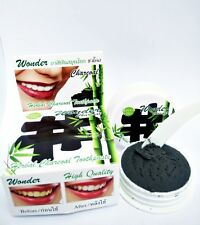25g Bamboo Charcoal Toothpaste Whitening Teeth+Guava leaf+Salt+Clove Free Spoon