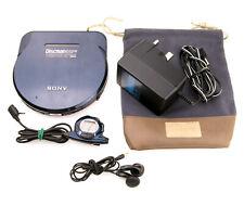 Sony D-E905 Discman ESP2 SteadySound + Power + Remote + Headphones + Carry Case