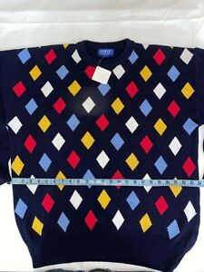 LA MODE Active Sportswear los angeles Mens Large Sweater