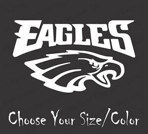 Philadelphia Eagles Football Vinyl Decal Sticker for NFL Car Truck Window Yeti R