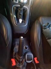 Cuffia leva cambio e freno Alfa Romeo Giulietta vera pelle nera+