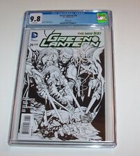 Green Lantern (New 52) #26 - DC 2013 Modern Age sketch variant - CGC NM/MT 9.8