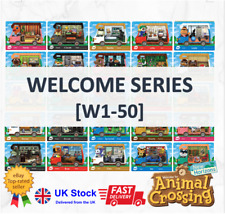 Welcome Series Custom Amiibo Cards Animal Crossing New Horizons Nintendo Switch