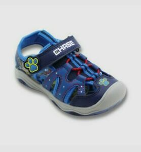 NWT Toddler Boys Nickelodeon Paw Patrol Light Up Hiking Sandals Shoe Blue