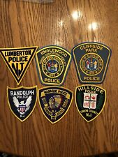 NEW JERSEY POLICE PATCH LOT - 25 PATCHES