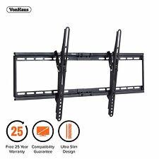 "VonHaus 32-65"" Tilt TV Wall Mount Bracket with Ultra Slim Design & 75kg Capacity"