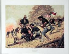 """Buffalo Soldier Art Print """"A Day of Honor"""" (S/N LImited Edition)"""