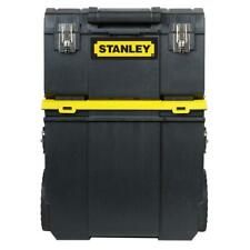 Stanley Large Portable Rolling 11 3 In 1 Detachable Tool Box Mobile Work Center