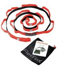 FlexFixx Stretch Strap Recovery Bands - Best for Yoga Physical Therapy Rehabi.