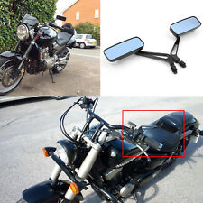 Loyal Chrome Square Motorcycle Rear View Mirrors Side View Mirror For Harley Models 8mm 10mm Available Clients First Side Mirrors & Accessories Frames & Fittings