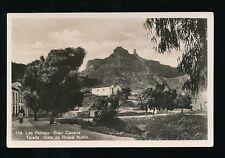 Spain Gran Canaria LAS PALMAS Tejeda Vista de Roque Nubio c1920/30s? RP PPC