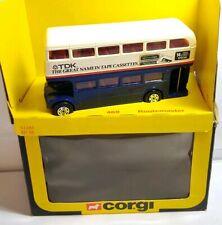 CORGI 1981 - DIECAST - LONDON ROUTEMASTER BUS TDK CASSETTE TAPES - 469 - BOXED
