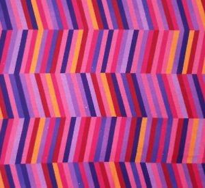 Forest Fancies BTY Lisa Kirkbride P&B Textiles Purple Pink Red Orange Geometric