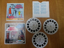 More details for viewmaster walt disneys mary poppins 3 reels b3761, b3762, b3763 plus booklet