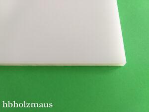 25,59€//m² PE-HD Polyethylen Platte 4 mm schwarz Größe 1000 x 195 mm