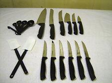 Farberware 19 Pc Always Sharp Knife Set NEW KNIVES ONLY NO BLOCK