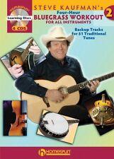 Steve Kaufman's Four-Hour Bluegrass Workout Series Two - Book 4-CD Pac 000642067