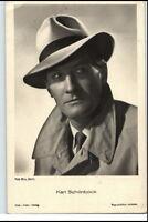 ~ 1950/60 Porträt-AK Film Bühne Theater Schauspieler KARL SCHÖNBÖCK Foto-Verlag