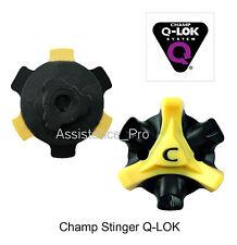 18 CHAMP STINGER Q-LOK/Q-FIT GOLF SPIKES BULK PACKED