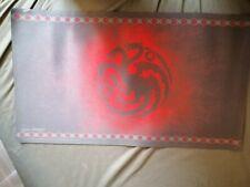 A Game Of Thrones 2.0 LCG Official FFG Targaryen Playmat