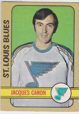 1972-73 O PEE CHEE HOCKEY JACQUES CARON ROOKIE #140 BLUES EX+ *62127