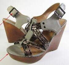 Damenschuhe im Plateau -/Wedge-Stil aus Echtleder in EUR 39