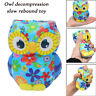 Adorable Owl Squeeze Slow Rising Cartoon Doll Cream Scented Stress Relief Toy -h