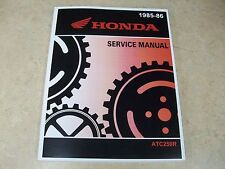 NEW GENUINE OEM 1985 1986 HONDA ATC250R ATC 250R 250 R SERVICE REPAIR MANUAL
