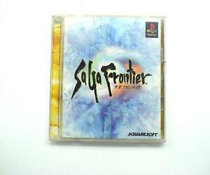 Saga Frontier Japanese Import Sony Playstation 1 Game NTSC J