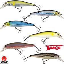 offerta 6 minnow pesca spinning esche artificiali traina lago mare luccio PL057