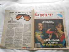 GRIT AMERICA'S GREATEST FAMILY NEWSPAPER-JULY 12,1987-JACK,ELAINE LALANNE