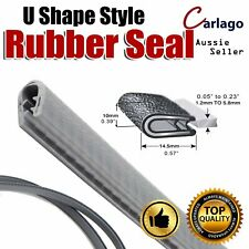 Pinchweld Car Vehicle Seal Trim Door Trunk Sharp Edge Protection Rubber Strip 5M