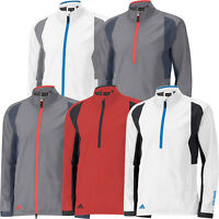 ADIDAS GORE-TEX WATERPROOF JACKET CLEARANCE GOLF RAIN - HALF ZIP & FULL ZIP