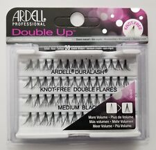 (LOT OF 10) Ardell Duralash Knot-Free DOUBLE UP Flares MEDIUM Individual Lashes